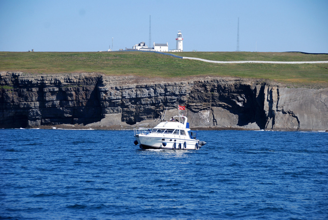 """Rapport"" about to pass Loop Head - Photos Paul Scannell"